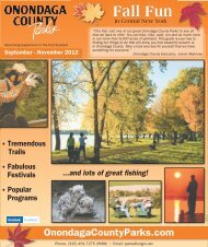 Fall Fun in Central New York - Onondaga County Parks