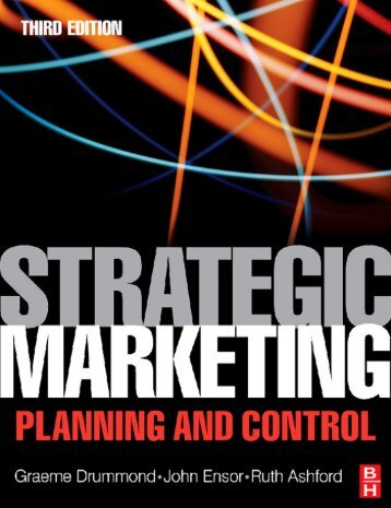 Strategic Marketing: Planning and Control, Third Edition - always yours
