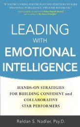 Leading with Emotional Intelligence: Hands-On ... - always yours