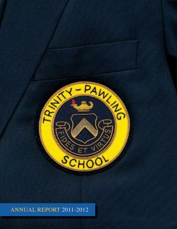 ANNUAL REPORT 2011a2012 - Trinity-Pawling School