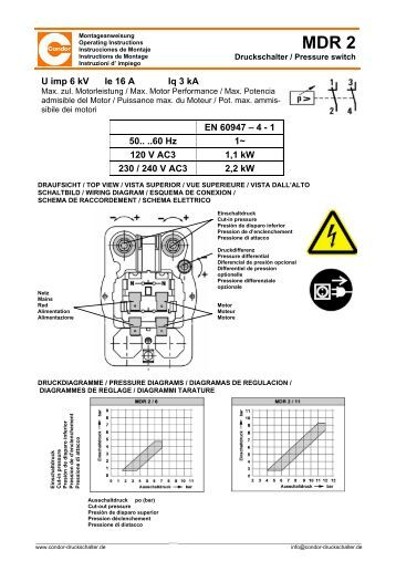 condor mdr2 pressure switch wiring diagram