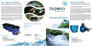 Sistemi di filtrazione - Tripond