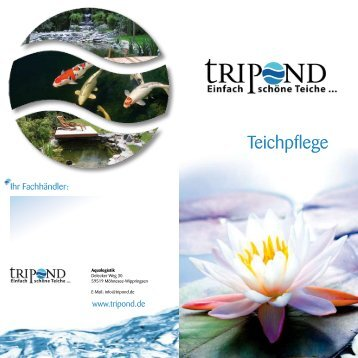 Teichpflege-Flyer - Tripond