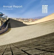 2011 Annual Report - FIAT SpA