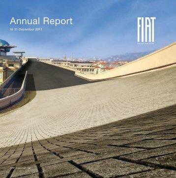 2011 Annual Report - FIAT SpA