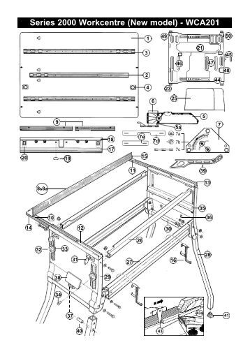 Tool Schematic and Partsâ Cordless Framing Nailer