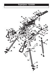 Exploded Schematic Diagram - Triton Tools