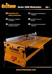 Series 2000 Workcentre - Triton Tools