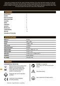 Manual de instrucciones - Triton Tools - Page 2