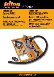 RTA300 - Triton Tools
