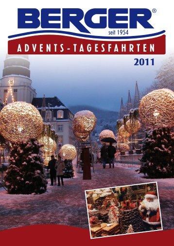 ADVENTS-TAGESFAHRTEN