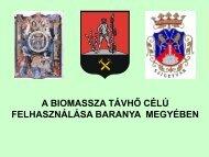 A biomassza távhő célú felhasználása Baranya megyében - trivent.hu