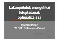 3. Lakóépületek energetikai felújításának optimalizálása - trivent.hu