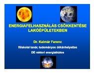 2. Energiafelhasználás csökkentése lakóépületekben - trivent.hu