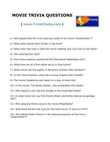 Christmas Trivia Questions.Movie Film Cinema Drama Serial Tv Book Synopsis The