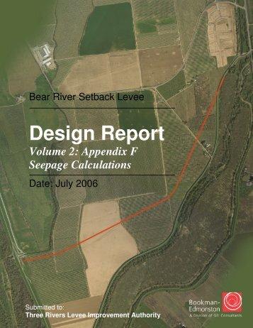 BRSL Design Report Vol 2.pdf - Three Rivers Levee Improvement ...