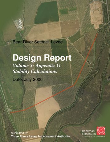 BRSL Design Report Vol 3.pdf - Three Rivers Levee Improvement ...