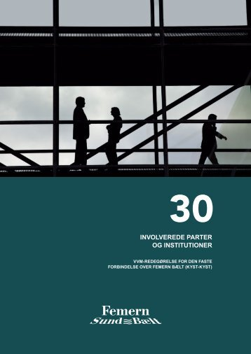 30 Involverede parter og institutioner