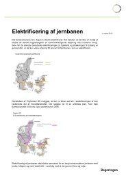 Faktaark om elektrificering