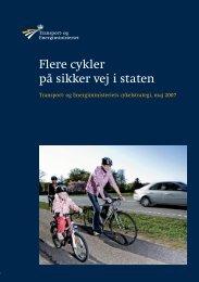 """(2007): """"Flere cykler på sikker vej i staten"""""""