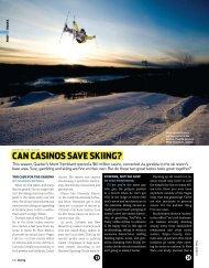 Can Casinos save skiing? - Charles Bethea