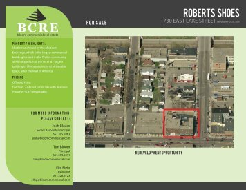 ROBERTS SHOES - Bloom Commercial Real Estate