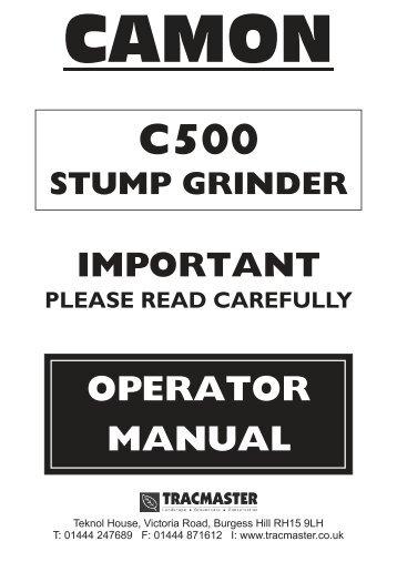 Camon - C500 - Exsel Plant & Tool Hire Ltd
