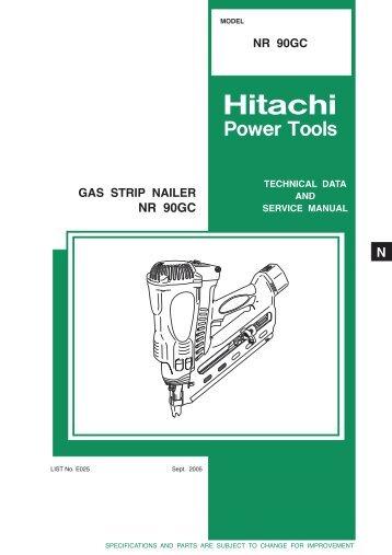 Hitachi - NR90GC - Exsel Plant & Tool Hire Ltd