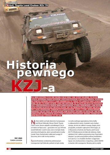 Historia pewnego KZJ - Desert Racer Team