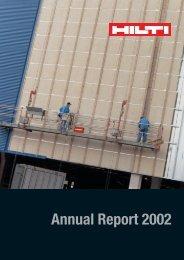 Annual Report 2002 - Hilti