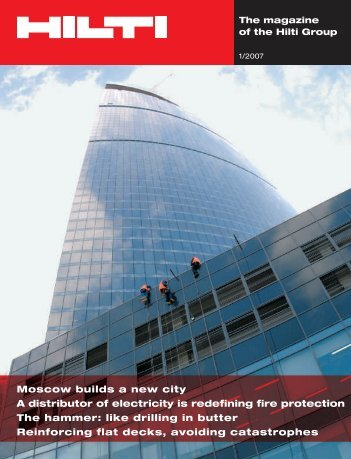 Moscow builds a new city A distributor of electricity is ... - Hilti