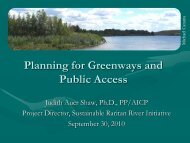 A New Approach to Planning for Open Space and Public Access
