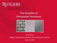 The Benefits of Permeable Pavement - Sustainable Raritan River