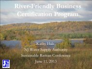 Green Infrastructure in the Raritan Basin (and beyond) - Sustainable ...