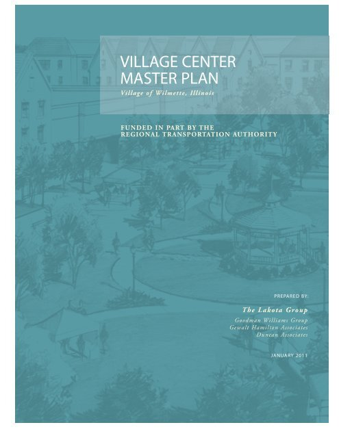 VC Master Plan - Cover REVISED 2010-12-10 ... - The Lakota Group