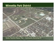 Winnetka Park District - The Lakota Group