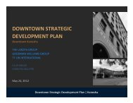 Downtown Strategic Development Plan | Kenosha - The Lakota Group