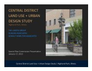 central district land use + urban design study - The Lakota Group