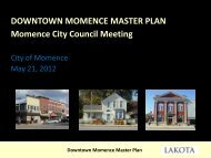 City Council Meeting PowerPoint - The Lakota Group
