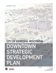 Kenosha Downtown Strategic Development Plan - The Lakota Group