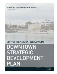 Kenosha State of Downtown Report.indd - The Lakota Group
