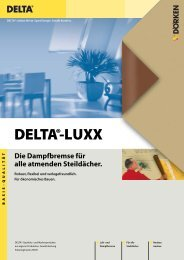 DELTA®-LUXX - TrockenBau Akustik