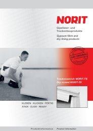 NORIT-Trockenestrich - Trockenbauforum.de