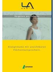 Lafarge LaSonic - Trockenbauforum.de