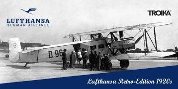 Download Lufthansa RETRO Flyer PDF, ca. 1,8 MB
