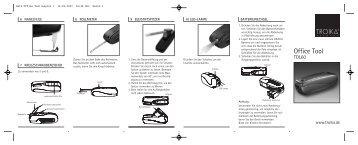 Satz Office Tool:Layout 1