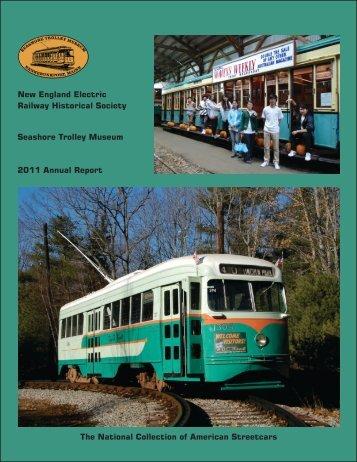 2011 Annual Report - the Seashore Trolley Museum