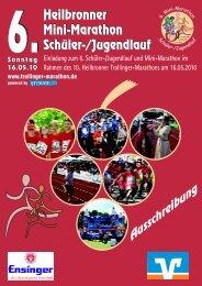 Heilbronner Mini-Marathon Schüler-/Jugendlauf Heilbronner Mini ...