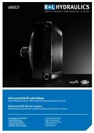 ACN und DCN Öl-Luft-Kühler ACN and DCN Oil-Air-Coolers