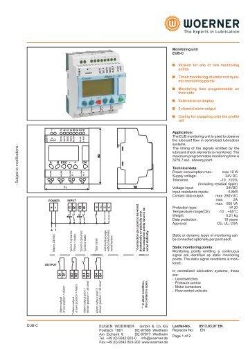 P0513 EN EUB-C Monitoring unit - TROMA-MACH sro